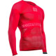 Compressport On/Off Multisport Hardloopshirt lange mouwen Heren rood